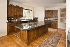 Light Oak Kitchen Cabinets Dark Wood Cabinets Kitchen Wall Mounted Range Hood Lush Purple