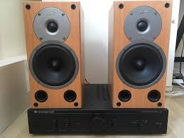 cambridge audio a5 lifier gale 3020 bookshelf speakers and