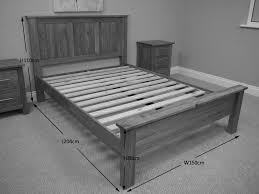 Wooden Bed Frame Double by King Platform Bed Frame U2013 What To Look For U2013 Trusty Decor
