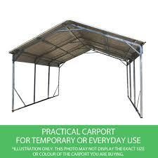 Ebay Carport Carport 6 23m X 6 08m X 4 27m Gable Backyard Boat Portable Vehicle