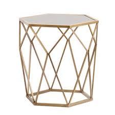Gold Side Table Modern Gold End Side Tables Allmodern