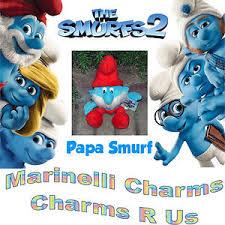 smurfs 2 plush papa smurf 12