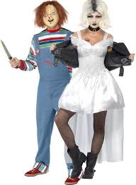 chucky costumes couples of chucky fancy dress costumes fancy me limited