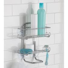 Interdesign Bathroom Accessories by Interdesign Classico Suction Shower Shelves Walmart Com