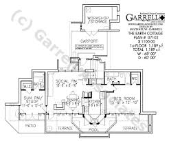earth cottage house plan house plans by garrell associates inc