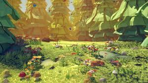forest glade artstation forest glade ded mazai