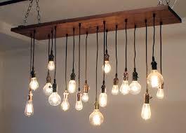reclaimed walnut barn wood chandelier with varying edison bulbs reclaimed walnut barn wood chandelier with varying edison bulbs design 35