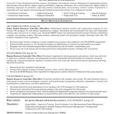 hr resume exles 2 shrm hr resume sle 2 resume for hr manager sle resume human