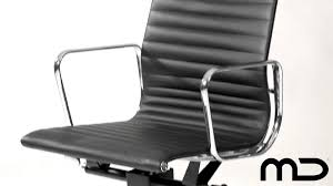 management office chair eames reproduction black from milan direct
