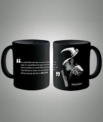 buy coffee mugs online india michael jackson quote black coffee mug buy online at best price