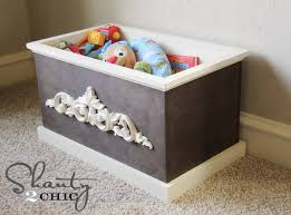 Build A Toy Chest Video by Picture Ledge Diy Shanty 2 Chic