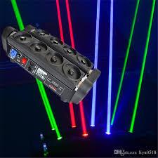 moving beam laser light 8 lens rgb laser curtain rgb