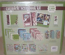 Colorbok Scrapbook Colorbok Complete Scrapbook Kit Ebay