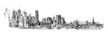 new york city sketches sketch coloring page