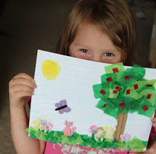 earth day crafts for kids lovebugs and postcards