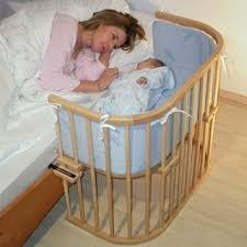 Side Bed Crib Crib That Hooks To Side Of Bed Or The Nsa Babybay Co Sleeper Cot