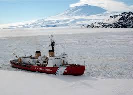 this incredible us coast guard ship can cut through 20 foot sheets