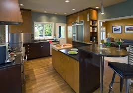 Modern Kitchen Cabinets Colors Modern Mid Century Modern Kitchen Table