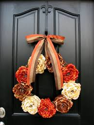 35 thanksgiving door wreath ideas for warm welcoming