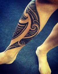 top 50 looking calf tattoos for and 2017