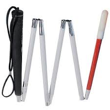 Blind People Canes Blind Cane White Cane Folding Cane Independent Living Low