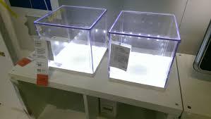 led light box ikea ikea have these amazing illuminated display boxes relevant to any