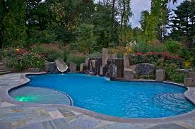 rockland county ny award winning natural waterfall swimming pool