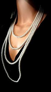 elegant white pearl necklace images 45 best pearl necklaces and pearls images beaded jpg