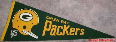 Packer Flags Nfl Green Bay Packers Helmet Ice Bowl Pennant Flag