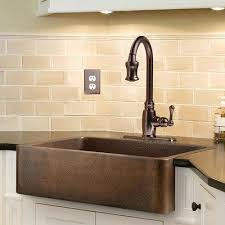 copper faucet kitchen copper kitchen sink faucet what goes with a nomadic