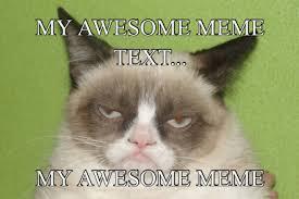Grumpy Cat Snow Meme - meme maker when someone is a jerk punch them if it is a snow