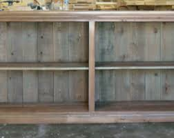 rustic wood display cabinet bookcase bookshelves display cabinet reclaimed wood