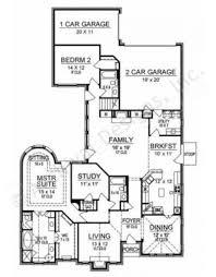 Narrow House Plans With Garage Long Cove Narrow Floor Plans Texas Floor Plans