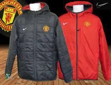 Football Bench Jackets Manchester United Coat Ebay