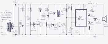 high low voltage cut off with delay and alarm with circuit diagram