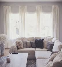 Window Treatment Ideas For Living Room by The 25 Best Grey Living Room Curtains Ideas On Pinterest