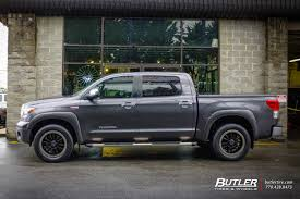 toyota tundra with 20in black rhino tanay wheels exclusively from