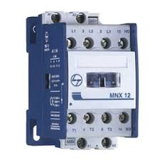 buy l u0026t mnx12 three pole contactor aux 1 nc at best price in india