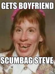 Brenda Memes - gets boyfriend scumbag steve bad luck brenda quickmeme