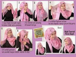 tutorial hijab resmi 4 gambar tutorial hijab paris segi 4 terbaru 2017