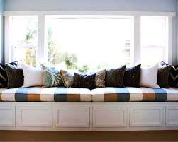 window seat storage bench plans long wooden window seat storage