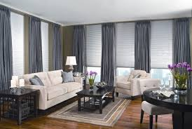 getting inspiration from various images of window treatments images of window treatments grey blind and shades combination for large windows in modern clean living