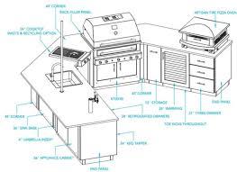 outdoor kitchen layout ideas new interior exterior design