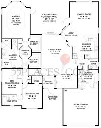 vaulted ceiling floor plans palma floorplan 2480 sq ft valencia falls 55places com