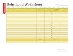 your 7 step guide to making a personal budget budget worksheets