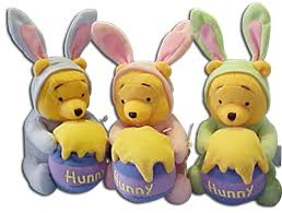 stuffed bunnies for easter winnie the pooh honey bunny easter plush rabbit