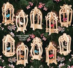 other scroll saw designs bird cage ornaments pattern set