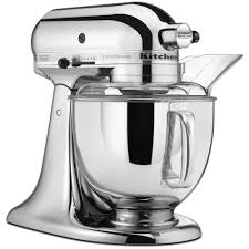 designer kitchen aid mixers kitchenaid custom metallic 5 qt chrome stand mixer ksm152pscr