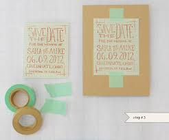 Diy Save The Dates Diy Geek Chic Graph Paper Save The Dates