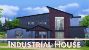 the sims 4 house building industrial house youtube